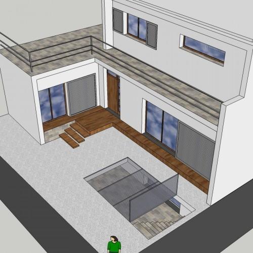 Proyecto básico de vivienda unifamiliar